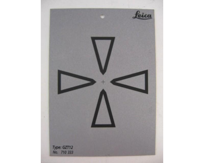 LEICA GZT12 REFLECTOR PLATE